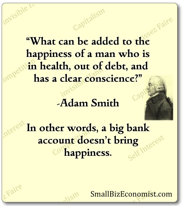 Adam Smith Quotes Classy Founder Of The Free Market Quotes Small Biz Economist